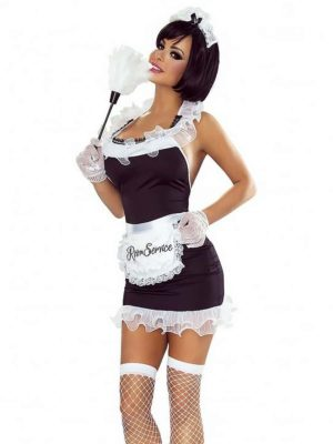 Provocative Seduction Pr1310 Sexy Maid Costume (black/white)