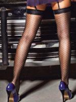 Sexy Costume Crochet Pattern Thigh High Stockings