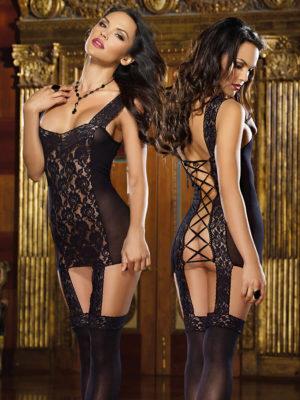 Dreamgirl Tahiti Hosiery Garter Dress