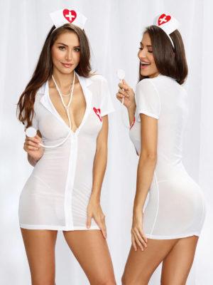 Dreamgirl Er Hottie Nurses Bedroom Costume Set