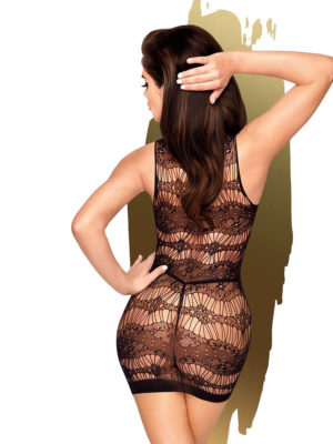 Penthouse Lingerie Eye-catcher Bodystocking Dress (black)