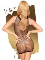 Penthouse Lingerie Ride Or Die Fishnet Bodystocking Dress (black)