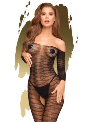 Penthouse Lingerie Dreamy Diva Bodystocking (black)