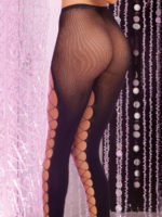 Pink Lipstick Lingerie Night Flight Net-front Pantyhose