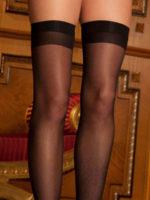 René Rofé Sexy Sheer Thigh High Stockings