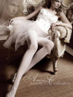 Ballerina Art.007 Hold Up Stockings (white)