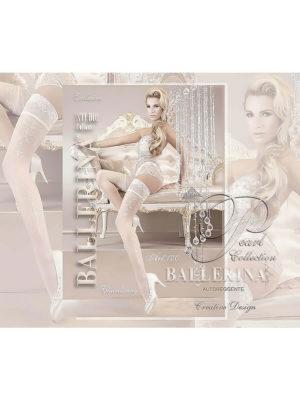 Ballerina Art.120 Hold Up Stockings (white)