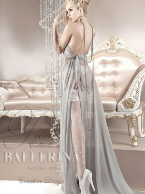 Ballerina Art.123 Hold Up Stockings (white)