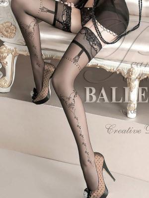 Ballerina Art.127 Hold Up Stockings (black)