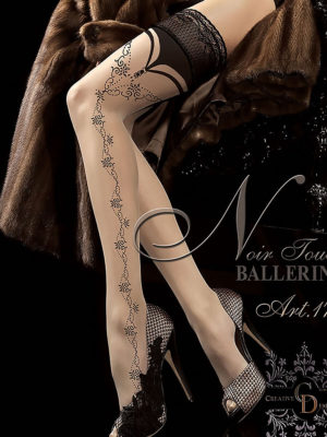 Ballerina Art.174 Hold Up Stockings (skin/beige)