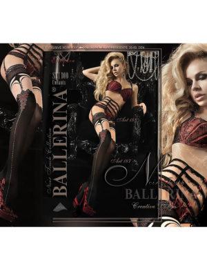 Ballerina Art.187 Hold Up Stockings (black)