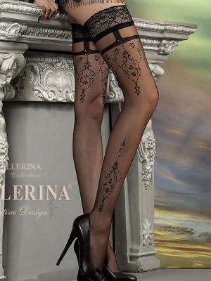 Ballerina Art.212 Hold Up Stockings (black)