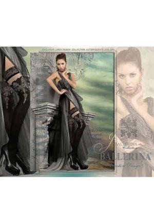 Ballerina Art.220 Hold Up Stockings (black)