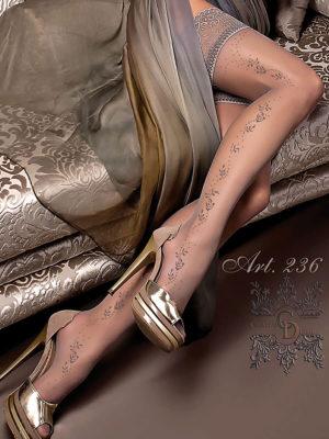 Ballerina Art.236 Hold Up Stockings (fumo/smoke)