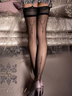 Ballerina Art.241 Hold Up Stockings (black)