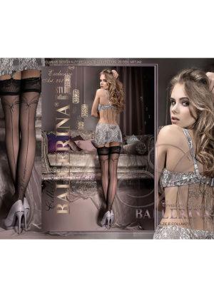 Ballerina Art.242 Hold Up Stockings (black)