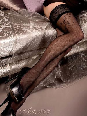 Ballerina Art.243 Hold Up Stockings (black)