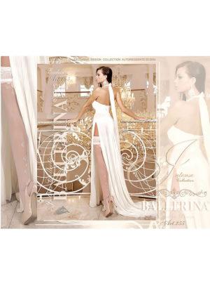 Ballerina Art.255 Hold Up Stockings (avorio/ivory)