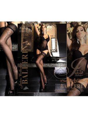 Ballerina Art.262 Hold Up Stockings (black)