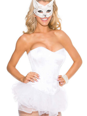 Shirley Of Hollywood 31044 Bridal Corset (white)