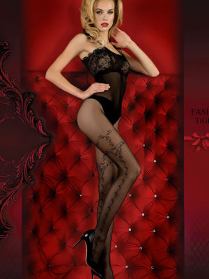 Ballerina Art.358 Exclusive Design Tights (black)