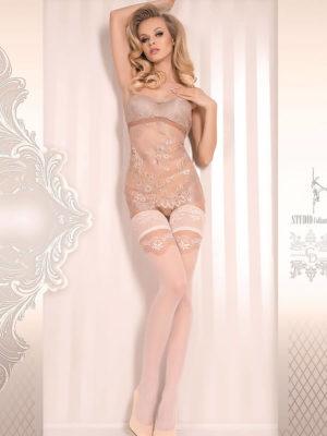 Ballerina Art.372 Hold Up Stockings (avorio/ivory)