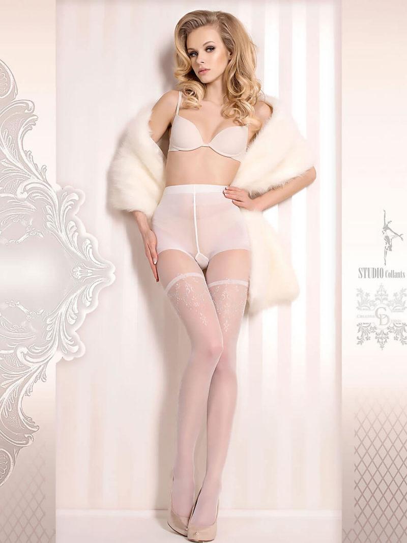 Ballerina Art.376 Exclusive Design Tights (white)