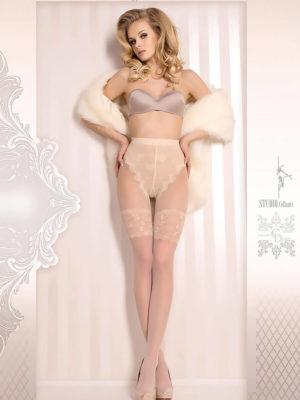Ballerina Art.377 Exclusive Design Tights (avorio/ivory)