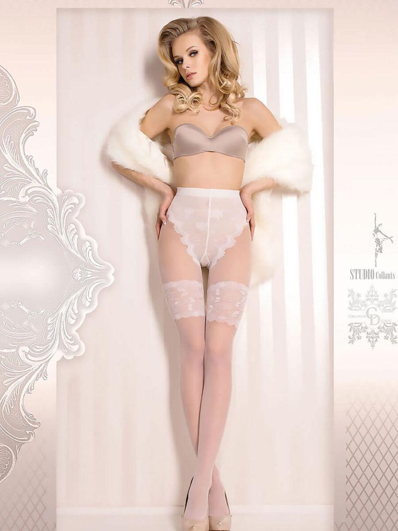 Ballerina Art.377 Exclusive Design Tights (white)