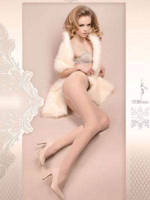 Ballerina Art.380 Exclusive Design Tights (avorio/ivory)
