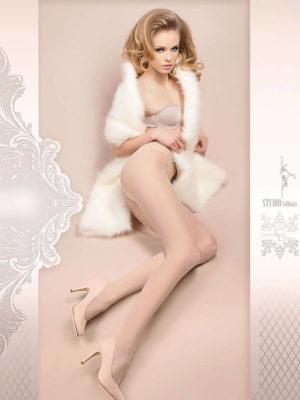 Ballerina Art.380 Exclusive Design Tights (white)