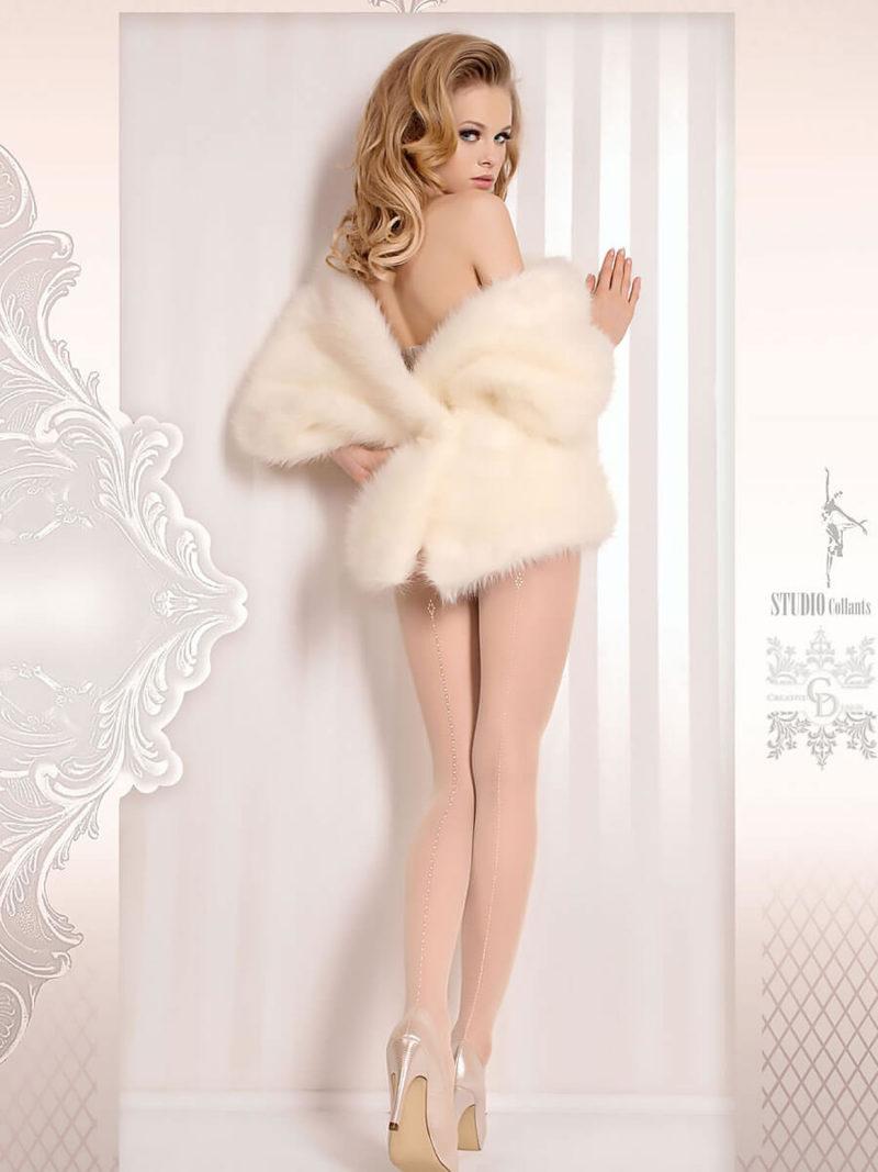 Ballerina Art.381 Exclusive Design Tights (avorio/ivory)
