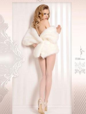 Ballerina Art.381 Exclusive Design Tights (white)