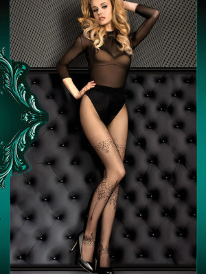 Ballerina Art.393 Exclusive Design Tights (black)