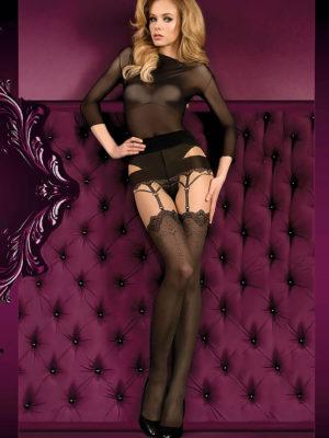 Ballerina Art.395 Exclusive Design Tights (skin/black)