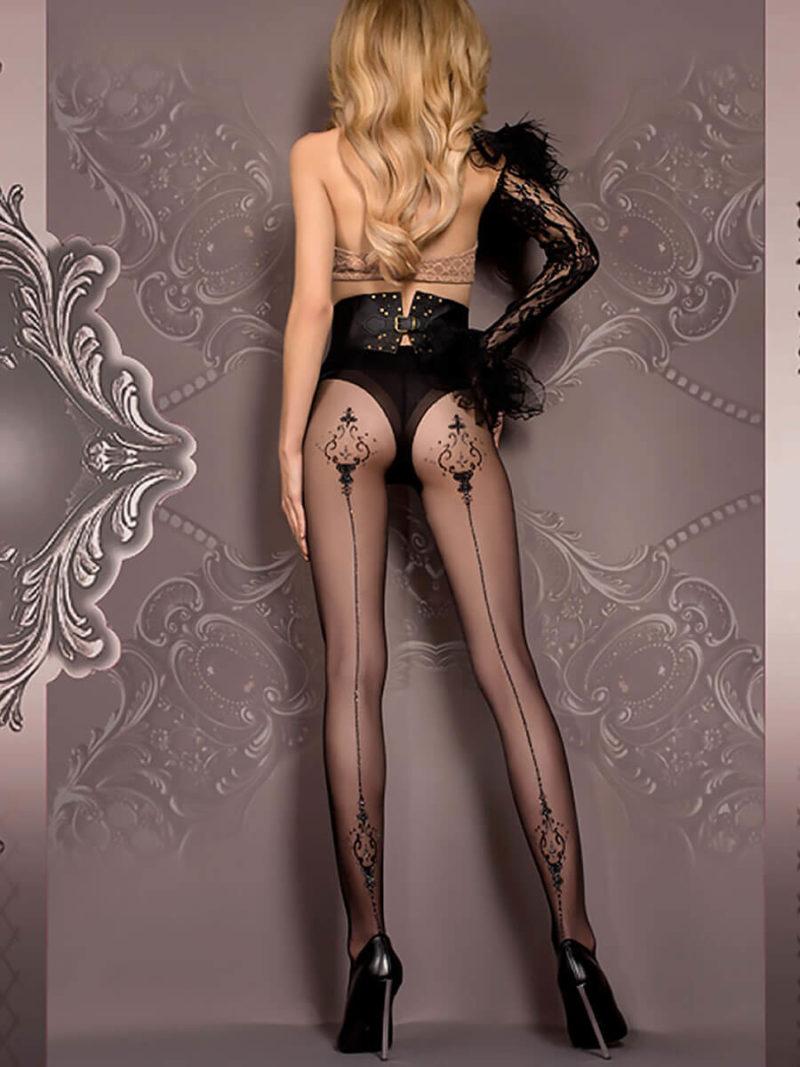Ballerina Art.410 Exclusive Design Tights (black)