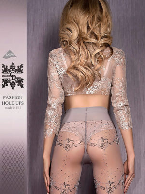Ballerina Art.413 Exclusive Design Tights (grey)