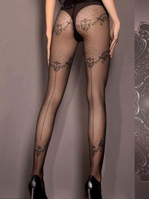 Ballerina Art.413 Exclusive Design Tights (black)