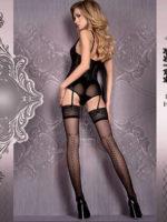 Ballerina Art.421 Hold Up Stockings (black)