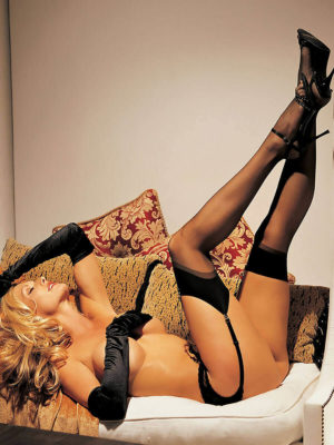 Shirley Of Hollywood 90024 One Size Hold Ups (white)