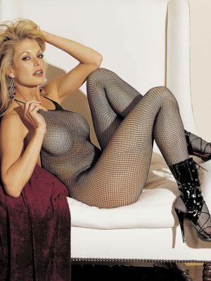 Shirley Of Hollywood 90025 Bedroom Wear Bodystocking (black)