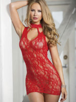 Shirley Of Hollywood 90393 Bedroom Wear Chemise (red)