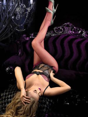 Ballerina Art.514 Fishnet Tights (granata/magenta)