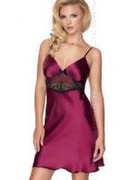 Irall Satin Collection 'latifa' Nightdress (plum)