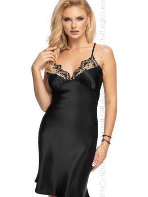 Irall Satin Collection 'mallory' Nightdress (black)
