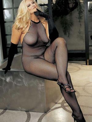 Shirley Of Hollywood X90001 Plus Size Bodystocking (black)