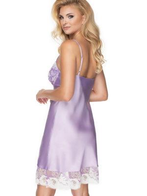 Irall Satin Collection 'andromeda' Nightdress (lavender)