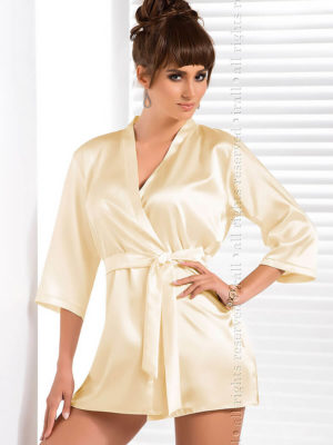 Irall Satin Collection 'aria' Robe (cream)