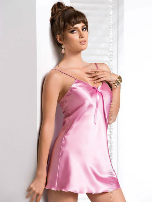 Irall Satin Collection 'aria' Nightdress (dusty Rose)