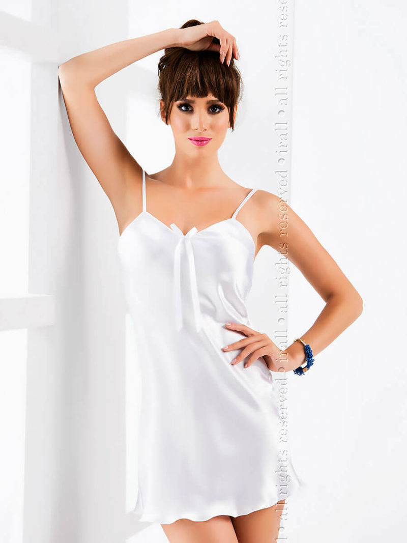 Irall Satin Collection 'aria' Nightdress (white)